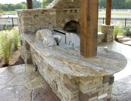 Quartz Countertops for Outdoor Kitchens